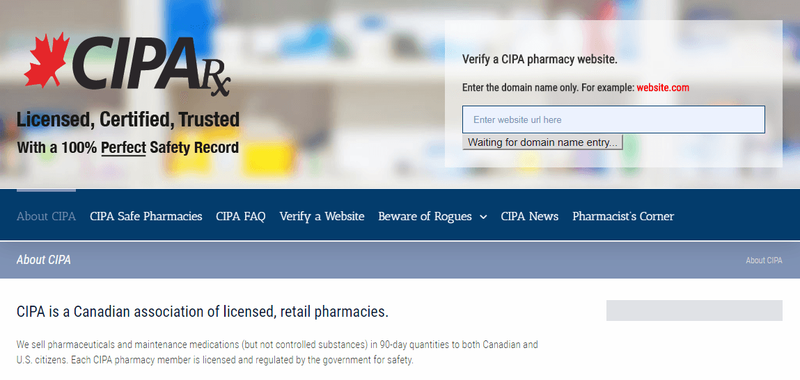 Association for Licensed Canadian Pharmacies
